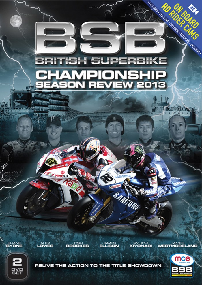 British Superbike Championship Review 2013 (2 Disc) DVD