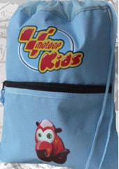 MotoGP Childs Gym bag (powder blue)