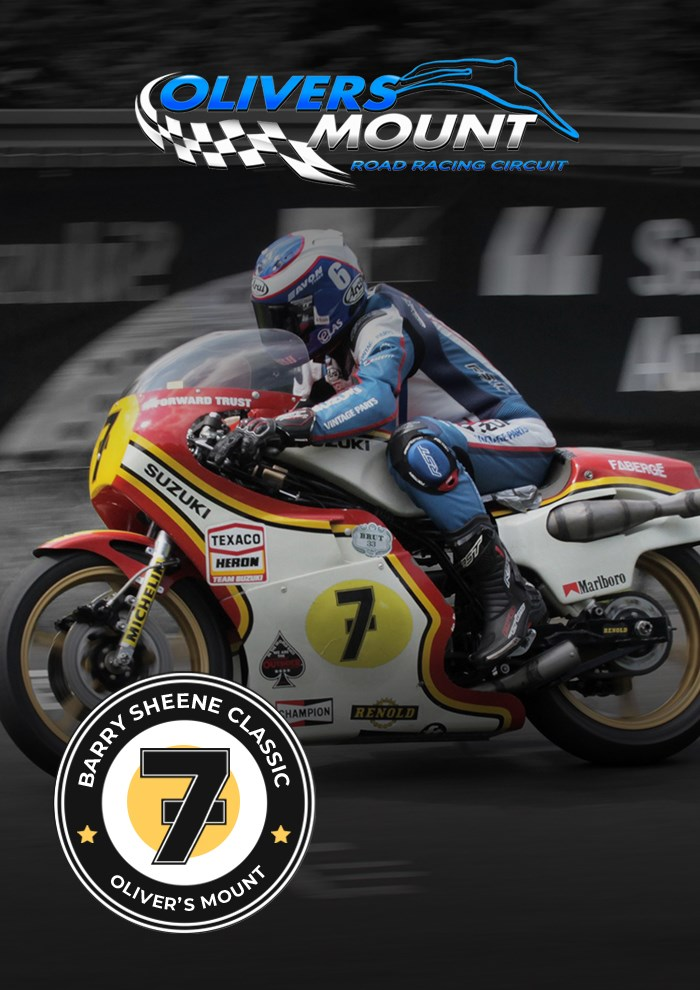 Olivers Mount Barry Sheene Classic June 2021 Digital Ticket - click to enlarge