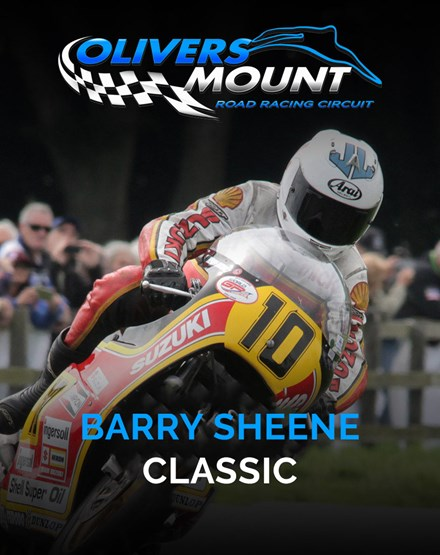 Olivers Mount Barry Sheene Classic 2019 Ticket - click to enlarge