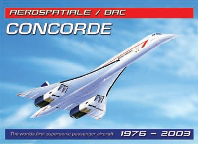 Concorde Metal Sign - click to enlarge