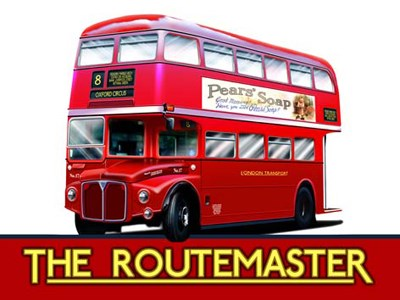 The Routemaster Metal Sign - click to enlarge
