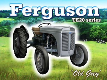 Ferquson TE20 Series Metal Sign - click to enlarge