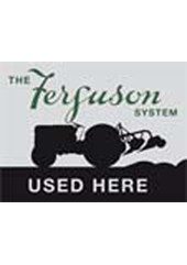 The Ferguson System Metal Sign