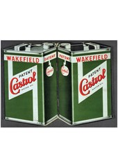 Castrol Oil Metal Sign
