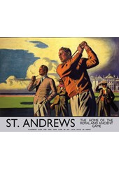 St.Andrews Metal Sign