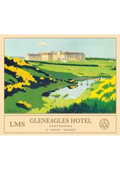 Gleneagles Hotel Metal Sign