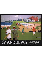 St.Andrews (beach) Metal Sign
