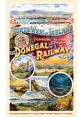 The Donegal Railway Co.Metal Sign