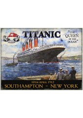 Titanic (tugs) Metal Sign