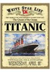 Titanic White Star Line Metal Sign