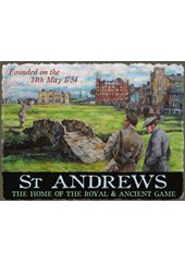 St.Andrews founded Metal Sign