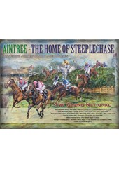 Aintree Metal Sign