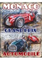 Monaco Grand Prix Metal Sign