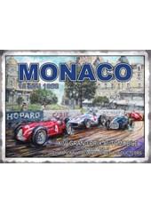 Monaco 1956 Metal Sign