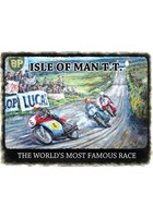 Isle of Man TT Metal Sign