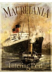 Mauretania Metal Sign