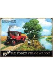 Foden Steam Wagon Metal Sign