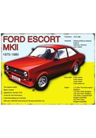 Ford Escort Mk II Metal Sign