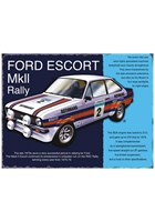 Ford Escort Mk II Rally Metal Sign