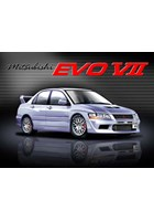 Mitsubishi Evo VII Metal Sign