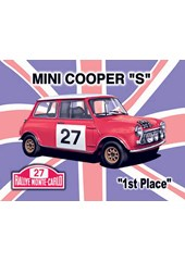 Mini Cooper S Metal Sign