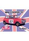 Mini Cooper S Metal Sign