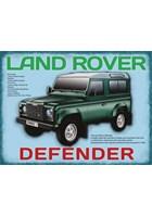 Land Rover Defender Metal Sign