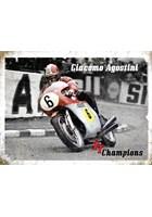 Giacomo Agostini Metal Sign