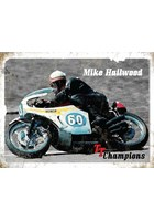 Mike Hailwood Metal Sign