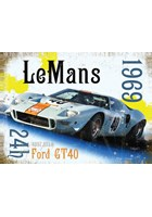 Le Mans 1969 Metal Sign