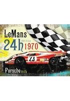 Le Mans 1970 Metal Sign