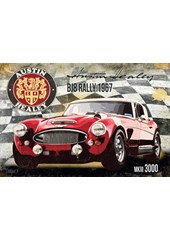 Austin Healey BJ8 Rally 1967 Metal Sign