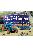 Ford and Fordson Landscape Metal Sign