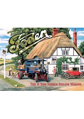 Foden Metal Sign