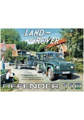 Land Rover Defender 110 Metal Sign