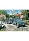 Land Rover Defender 110 Metal Sign