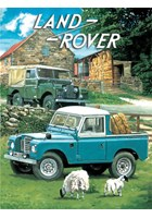 Land Rover Metal Sign