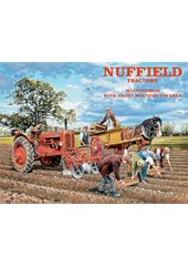 Nuffield Tractors Metal Sign