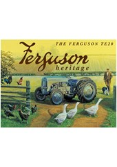 The Ferguson TE20 heritage Metal Sign