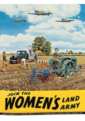 Women's Land Army Metal Sign