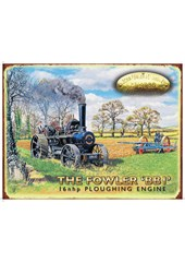 The Fowler ' BBI' Metal Sign