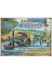 Aveling and Porter  Metal Sign