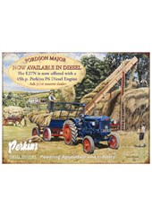 Fordson Major Metal Sign