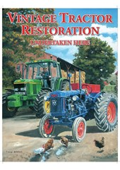 Vintage Tractor Restoration Metal Sign