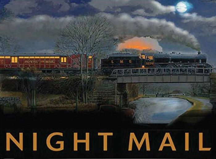 The Night Mail Train - click to enlarge