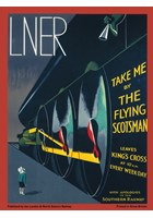 LNER Take Me by the Flying Scotsman Metal Sign