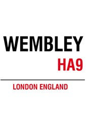 Wembley Metal Sign