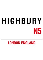 Highbury Metal Sign