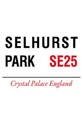 Selhurst Park Metal Sign